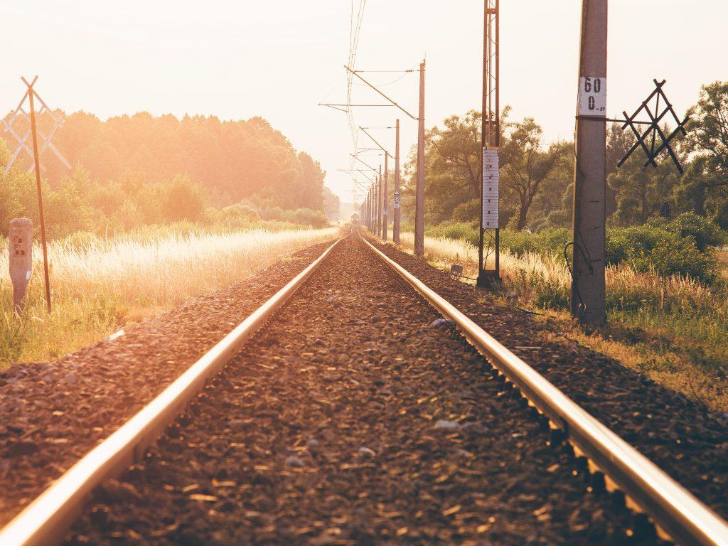 light-sunset-train-lake